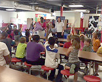 (Hank Wiesner / Buy at photos.chickasawjournal.com)<br /> Youngsters raise their hand to answer dental health question at Houlka Attendance Center. The event was sponsored by the Mississippi Department of Health and Chickasaw County School District.