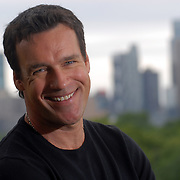 New York, NY / 2010 - Actor David James Elliott, who plays a con in the new  ABC series Scoundrels, visited New York City's Metropolitan Museum of Art bamboo exhibit. - Photo by Mike Roy, Freelance for USA Today