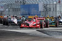 Dario Franchitti, Honda Grand Prix of St. Petersburg, Streets of St. Petersburg, St. Petersburg, FL USA 3/27/2011