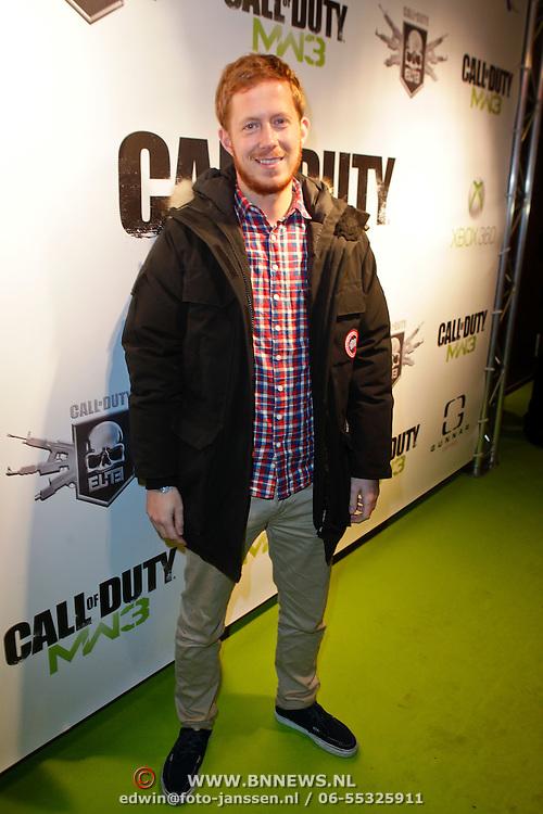 NLD/Amsterdam/20111107- Lancering Call of Duty MW3, Robert de Hoog