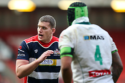 Ian Evans of Bristol Rugby looks on - Rogan Thomson/JMP - 11/12/2016 - RUGBY UNION - Ashton Gate Stadium - Bristol, England - Bristol Rugby v Pau - European Rugby Challenge Cup.