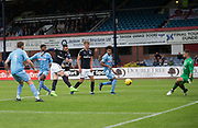 Bolton Wanderers&rsquo; Mark Howard saves a great chance for Dundee&rsquo;s Marcus Haber - Dundee v Bolton Wanderers pre-seson friendly at Dens Park, Dundee, Photo: David Young<br /> <br />  - &copy; David Young - www.davidyoungphoto.co.uk - email: davidyoungphoto@gmail.com