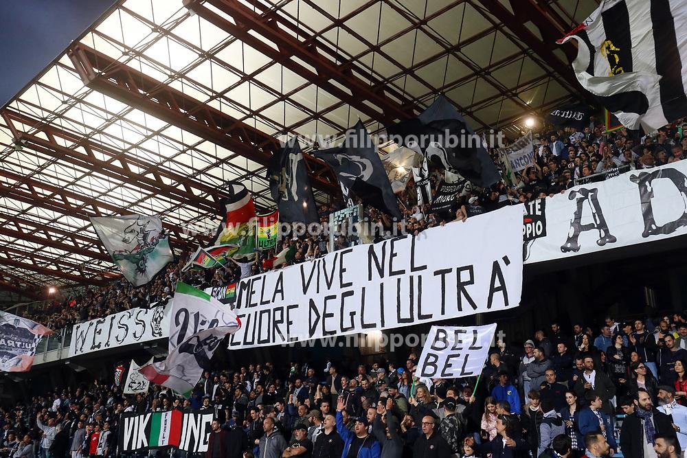 """Foto Filippo Rubin<br /> 17/04/2018 Cesena (Italia)<br /> Sport Calcio<br /> Cesena - Empoli - Campionato di calcio Serie B ConTe.it 2017/2018 - Stadio """"Dino Manuzzi""""<br /> Nella foto: I TIFOSI DEL CESENA<br /> <br /> Photo by Filippo Rubin<br /> April 17, 2018 Cesena (Italy)<br /> Sport Soccer<br /> Cesena vs Empoli - Italian Football Championship League B 2017/2018 - """"Dino Manuzzi"""" Stadium <br /> In the pic: CESENA SUPPORTERS"""