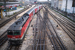 THEMENBILD - Westbahnhof Wien Aufgenommen am 04.04.2019 in Wien, Österreich // Weststation in Vienna, Austria on 2019/04/04. EXPA Pictures © 2019, PhotoCredit: EXPA/ Michael Gruber