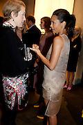 JUSTINE PICARDIE; THANDIE NEWTON Vogue: Fashion's Night Out: Armani. Bond st.  London. 8 September 2010.  -DO NOT ARCHIVE-© Copyright Photograph by Dafydd Jones. 248 Clapham Rd. London SW9 0PZ. Tel 0207 820 0771. www.dafjones.com.
