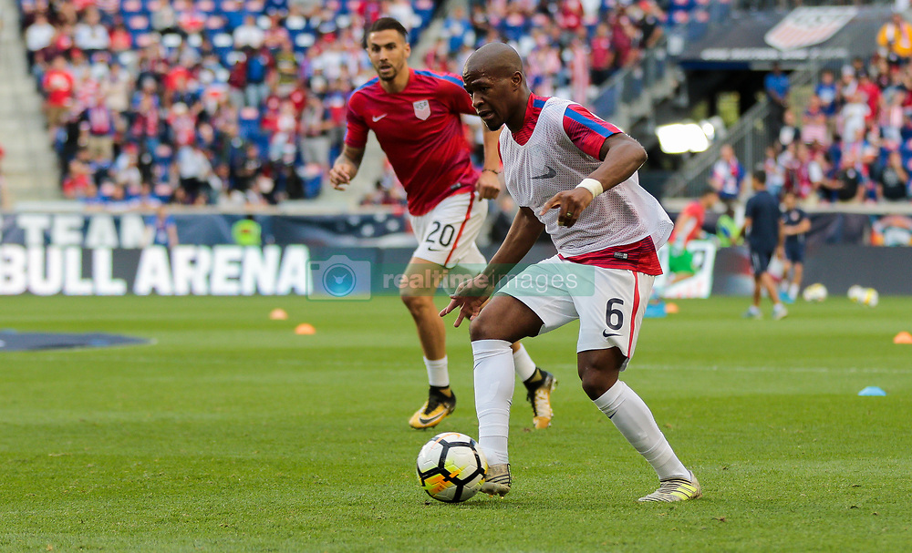 September 1, 2017 - Harrison, NJ, USA - Harrison, N.J. - Friday September 01, 2017: Darlington Nagbe during a 2017 FIFA World Cup Qualifying (WCQ) round match between the men's national teams of the United States (USA) and Costa Rica (CRC) at Red Bull Arena. (Credit Image: © John Dorton/ISIPhotos via ZUMA Wire)