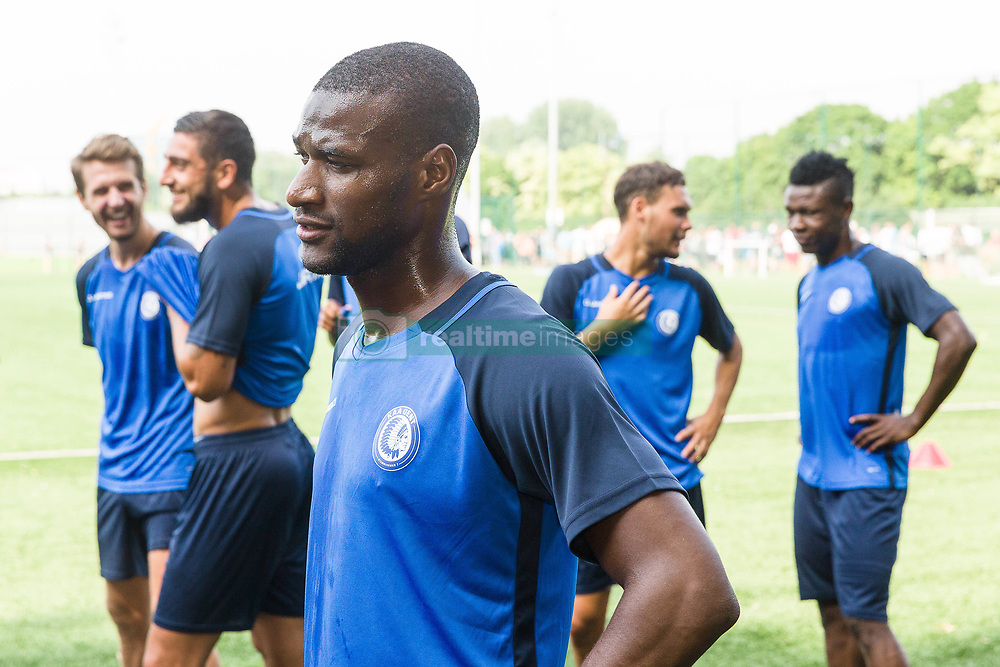 June 22, 2017 - Gent, BELGIUM - Gent's Mamadou Sylla Diallo pictured during the first training session for the new 2017-2018 season of Jupiler Pro League team KAA Gent, in Gent, Thursday 22 June 2017. BELGA PHOTO JAMES ARTHUR GEKIERE (Credit Image: © James Arthur Gekiere/Belga via ZUMA Press)