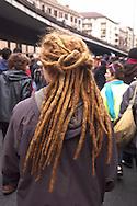 Roma 22  Dicembre 2010.Manifestazione dei studenti  per protestare contro la riforma Gelmini..Rome 22 December 2010.Demonstration of l students to protest against the reform Gelmini..