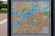 City Tourist map of Saint Petersburg, Russia