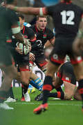 Twickenham, Surrey United Kingdom. Sam UNDERHILL . during the England vs Argentina. Autumn International, Old Mutual Wealth series. RFU. Twickenham Stadium, England. <br /> <br /> Saturday  11.11.17.    <br /> <br /> [Mandatory Credit Peter SPURRIER/Intersport Images]