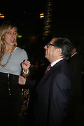 Elizabeth Thurn und Taxis and Bob Colacello.   SIMON de PURY AND THE PARTNERS OF PHILLIPS de PURY & COMPANY Host a dinner in honour of <br />