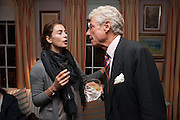FRANCESCA AMFITEROV; CHRISTOPHER BALFOUR, Dinner to celebrate the opening of Pace London at  members club 6 Burlington Gdns. The dinner followed the Private View of the exhibition Rothko/Sugimoto: Dark Paintings and Seascapes.