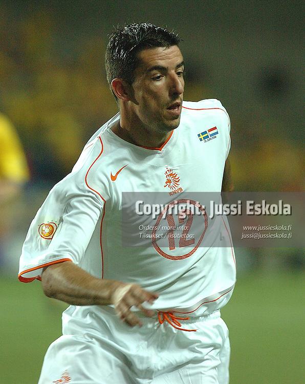 Roy Makaay, Sweden-Holland 26.6.2004.&#xA;Euro 2004.&#xA;Photo: Jussi Eskola<br />