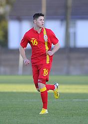 Wes Burns (Bristol City) of Wales - Photo mandatory by-line: Joe Meredith/JMP - Tel: Mobile: 07966 386802 06/02/2013 - SPORT - FOOTBALL - Stebonheath Park - Llanelli -  Wales U21s V Iceland U21s - U21s International friendly