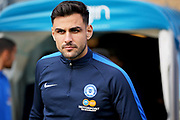 Peterborough United defender Ryan Tafazolli (5) before the EFL Sky Bet League 1 match between Wycombe Wanderers and Peterborough United at Adams Park, High Wycombe, England on 3 November 2018.