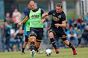 ALKMAAR - 25-06-2017, eerste training AZ. AZ speler Ron Vlaar, AZ speler Ben Rienstra