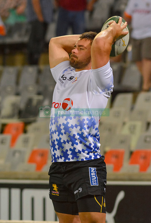 Robbie Coetzee of the Lions during the Currie Cup Premier division match between the The Free State Cheetahs and the Lions held at Toyota Stadium (Free State Stadium), Bloemfontein, South Africa on the 15th September 2016<br /> <br /> Photo by:   Frikkie Kapp / Real Time Images