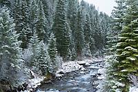Icicle Creek near Joseph, Oregon.