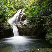The Krabak Waterfall in Pang Sida National Park, Thailand.