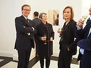 THADDAEUS ROPAC; FRANCES MORRIS, POLLY ROBINSON-GAEROpening of Galerie Thaddaeus Ropac London, Ely House, 37 Dover Street.. Mayfair. London. 26 April 2017.
