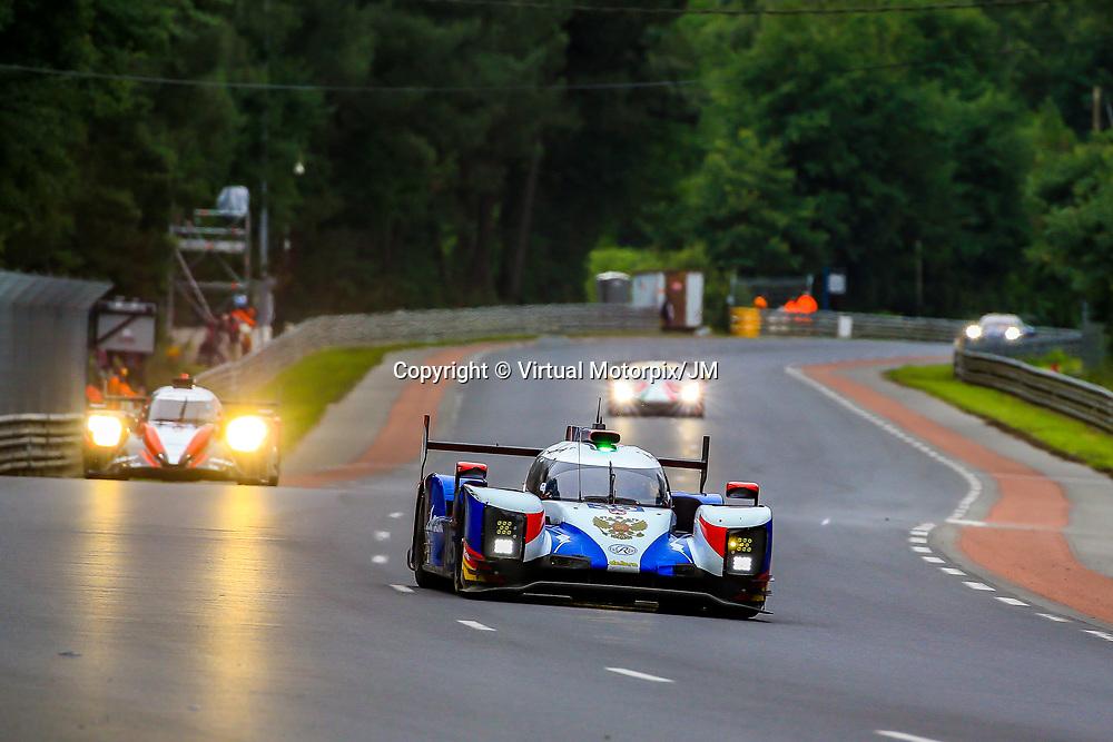 #35, SMP Racing, Dallara P217-Gibson, LMP2, driven by: Victor Shaitar, Harrison Newey, Norman Nato, 24 Heures Du Mans  2018, , 14/06/2018,
