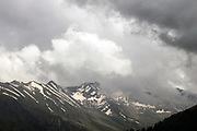 Ganderbal district trek to Harmukh mountain and Lake Gangabal, Kashmir Valley, Northern India 2009-07-12.<br />