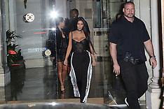 Paris - Kardashians Out And About - 29 Sep 2016