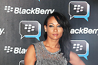 Lisa Maffia was attending Blackberry's BBM Event - a celebration of the smartphone's free instant messaging app. The Bankside Vaults, London, UK. April 03, 2012. (Photo by Brett Cove)