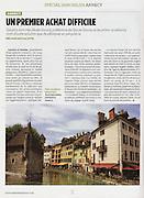 L'Obs, spécial immobilier à Annecy.