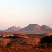 Africa, Namibia, Kaokoland. Puros Conservancy Landscape.