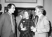 24/01/1979.01/24/1979.24th January 1979.Pictured at the launch of SodaStream in Ireland from L-R, Mr David Waller, Valerie McGovern and Mr Ian Leask.
