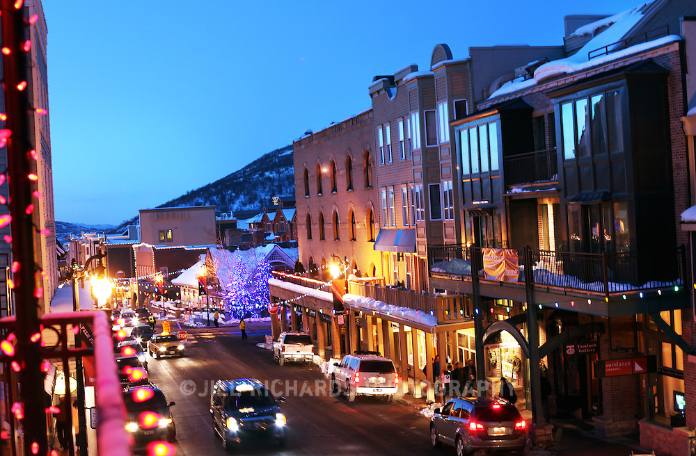 Filmmakers and movie fans flock to Main Street in Park City, Utah for the annual Sundance Film Festival, one of the nations most prestigious film festivals.