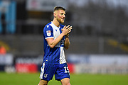 Alfie Kilgour (15) of Bristol Rovers during the EFL Sky Bet League 1 match between Bristol Rovers and Blackpool at the Memorial Stadium, Bristol, England on 15 February 2020.