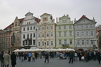 Old town square, Prague, Czech republic<br />