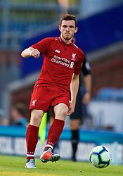 BLACKBURN, ENGLAND - Thursday, July 19, 2018: Liverpool's Andy Robertson during a preseason friendly match between Blackburn Rovers FC and Liverpool FC at Ewood Park. (Pic by David Rawcliffe/Propaganda)