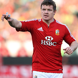 Brian O'Driscoll of the British and Irish Lions during the British and Irish Lions tour 2009 <br /> LIONS TOUR 2009 SOUTH AFRICA