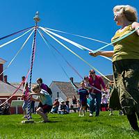 Canterbury Shaker Village Opening Day, May 4, 2013.