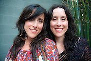 The Watson Twins in at the South by Southwest Music Conference, Austin Texas, March 19, 2010.