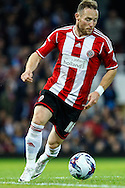 Ben Davies of Sheffield United during the Capital One Cup match at the Boleyn Ground, London<br /> Picture by David Horn/Focus Images Ltd +44 7545 970036<br /> 26/08/2014