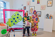 Grayson Perry and his wife tour the show he curated - Royal Academy celebrates its 250th Summer Exhibition, and to mark this momentous occasion, the exhibition is co-ordinated by Grayson Perry RA.