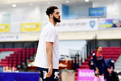 Chris Taylor of Bristol Flyers warms up prior to tip off - Photo mandatory by-line: Ryan Hiscott/JMP - 17/01/2020 - BASKETBALL - SGS Wise Arena - Bristol, England - Bristol Flyers v London City Royals - British Basketball League Championship
