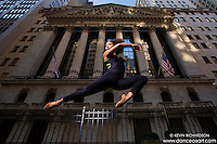 Wall Street Dance As Art New York City Photography featuring Chanel DaSilva