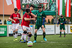 May 4, 2019 - Wroclaw, Poland - Wroclaw, Poland May 4 2019, in Wroclaw Polish Cup in Blind Football Slask Wroclaw Blind Football - Wisla Krakow BF 1: 1  (Credit Image: © Krzysztof Kaniewski/ZUMA Wire)