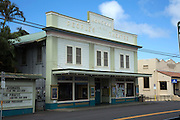 Honokaa Peoples Theater, Hamakua Coast, Island of Hawaii