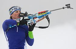 Andreja Mali at training session of Slovenian biathlon team before new season 2009/2010,  on November 16, 2009, in Pokljuka, Slovenia.   (Photo by Vid Ponikvar / Sportida)