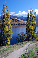 Lake Hayes, between Queenstown & Cromwell, South Island, is one of New Zealand's most spectacularly beautiful lakes. It is a wildlife haven and a popular fishing destination. 201004065116...© Victor Patterson, 54 Dorchester Park, Belfast, N Ireland. Tel: +44 2890661296; Mobile: +44 7802 353836; Emails: victorpatterson@me.com & victorpatterson@gmail.com; www.victorpatterson.com