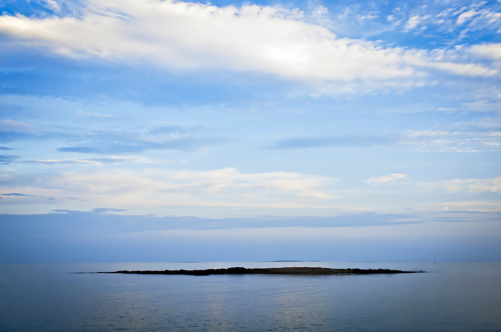 Horn Island from Fort Foster near Kittery, Maine