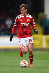 Swindon Town's John Swift in action during the Sky Bet League One match between Swindon Town and Milton Keynes Dons at The County Ground on 4 April 2015 in Swindon, England - Photo mandatory by-line: Paul Knight/JMP - Mobile: 07966 386802 - 04/04/2015 - SPORT - Football - Swindon - The County Ground - Swindon Town v Milton Keynes Dons - Sky Bet League One