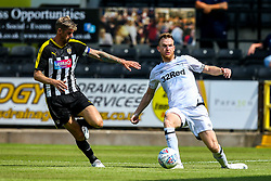 Alex Pearce of Derby County takes on Jonathan Stead of Notts County - Mandatory by-line: Robbie Stephenson/JMP - 14/07/2018 - FOOTBALL - Meadow Lane - Nottingham, England - Notts County v Derby County - Pre-season friendly