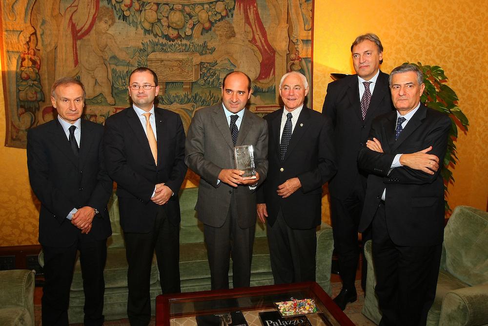 Roma, 31 ottobre 2008<br /> Italia Mondiali 2014 incontro con i vertici Fiba a Palazzo Chigi